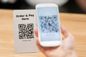 qr code ordering at for hospitality